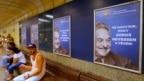 """Posteri """"Ne dozvolite da se Soroš posljednji smije"""", Budimpešta"""