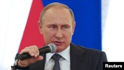 """These networks have just been skulking around the schools of the Russian Federation for many years under the guise of supporting talented young people,"" President Vladimir Putin said."