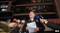 """Bivši premijer Makedonije i vođa VMRO DPMN Nikola Gruevski je najavio """"desorošizaciju""""."""