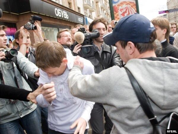 где в москве геи знакомятся на улице