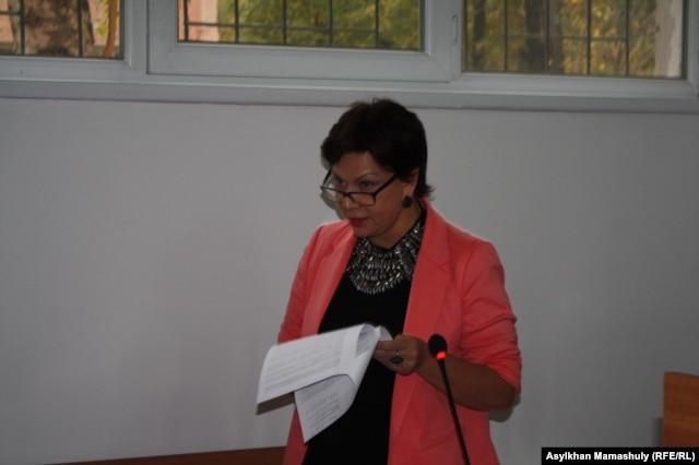 Инесса Киселева, адвокат Карлыгаш Жакияновой.