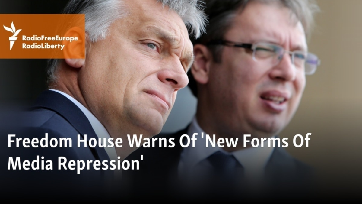 Freedom House Warns Of New Forms Of Media Repression