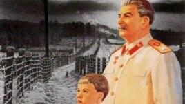 Poster Anti-Stalin de Vladimir Potapov