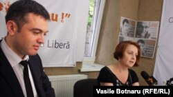 Viorel Chetraru şi Lilia Caraşciuc