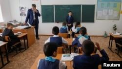 Урок в сельской школе. Иллюстративное фото.
