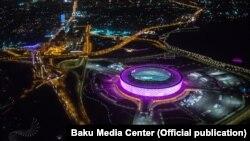 Bakı Olimpiya stadionunun gecə görüntüləri