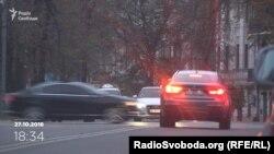 Кортеж президента Порошенка