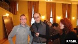 Свой творческий вечер Родион Мариничев провел в тандеме с тбилисским поэтом Дмитирием Лоскутовым
