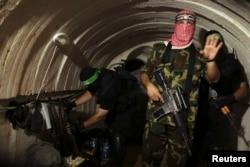 """Сколько поставленного в Газу """"гуманитарного"""" бетона ушло на строительство подземных военных туннелей, точно знают лишь в ХАМАС"""