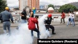 На вуліцах Каракаса 23 студзеня 2019