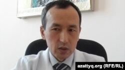 Кожахмет Маширов, заместитель главного врача Южно-Казахстанского областного СПИД-центра. Шымкент, 10 февраля 2014 года.