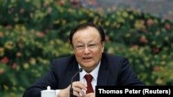 Председатель Синьцзян-Уйгурского автономного района (СУАР) Китая Шохрат Закир.