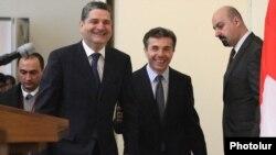 Иванишвили в ходе визита в Ереван сразу нашел общий язык со своим армянским коллегой