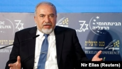 Israeli Defense Minister Avigdor Lieberman (file photo)