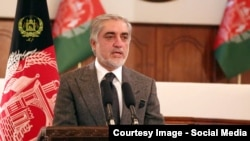 Afghanistan -- Afghan CEO Dr. Abdullah Abdullah in A gathering of Afghan officials in ARG according to مراسم تحلیف کمیشنران کمیسیون مستقل انتخابات attestation of the Election commission commissioners, 22 November 2016