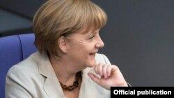 На снимке: Ангела Меркель