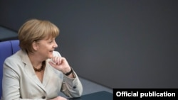 German Chancellor Angela Merkel the EU may need to rethink its energy partnership with Russia if Moscow continues to violate basic principles.
