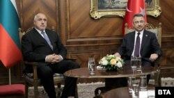 Бойко Борисов и вицепрезидентът на Турция Фуат Октай.