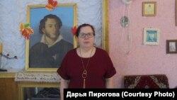 Могочино. Хранитель Пушкинского музея Нина Теущакова