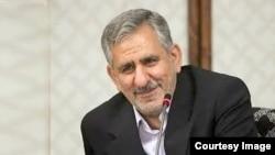 اسحاق جهانگیری، معاون اول رئیس جمهور ایران.