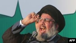 Hizballah chief Hassan Nasrallah