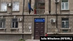 Sediul CEC din Chișinău.