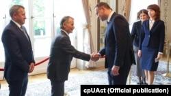 Мустафа Джемілєв і Рефат Чубаров зустрілися з президентом Польщі Анджеєм Дудою
