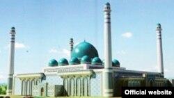 Тарҳи масҷиди бузургтарини Тоҷикистон, ки дар Душанбе сохта мешавад