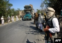 Pro-Taliban militants in the Swat Valley (file photo)