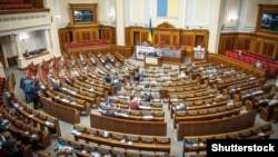 Сессионный зал Верховной Рады