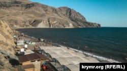 Пляж Капсельської бухти