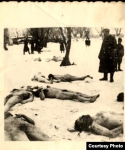 Evrei omorîți în pogromul de la București în 1940 (Credit foto: Yad Vashem)