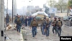Мосул. Ирактын өкмөттүк күчтөрү. 28-март, 2017-жыл.