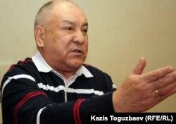 Газиз Алдамжаров, лидер оппозиционной Коммунистической партии Казахстана. Алматы, 27 марта 2012 года.