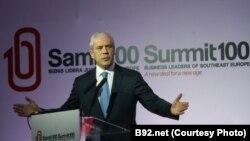 Boris Tadić na samitu biznis lidera, Aranđelovac, 6. oktobar 2011.