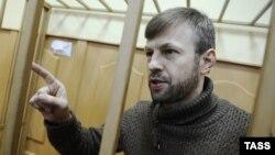 Евгений Урлашов в суде, февраль 2014 года