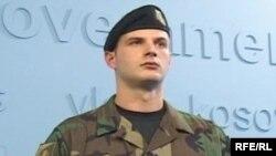 Prezantimi i uniformave të pjesëtarëve të FSK-së, 12 dhjetor 2008.
