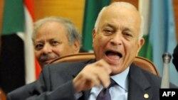 Генеральный секретарь Лиги арабских государств Набиль аль-Араби