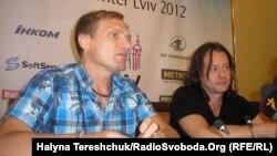Олег Скрипка і Василь Попадюк