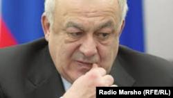 Солтүстік Осетияның бұырнғы басшысы Таймураз Мамсуров.