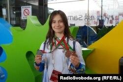 Ольга Шубкіна здобула три медалі для України