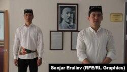 Бишкекте өткөн Өзбекстандын маданият күндөрүндө тартылган сүрөт. 20-февраль, 2015-жыл.