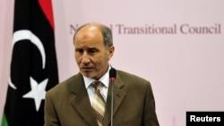 Mustafa Abdel Jalil, chairman of the Libyan National Transitional Council (NTC)
