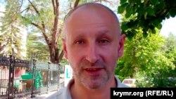 Қырымдағы ресейшіл белсенді Валерий Подъячий.