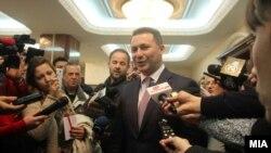Nikolla Gruevski para se të japë dëshminë
