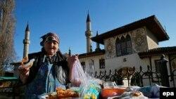 В центре Бахчисарая – города крымских татар