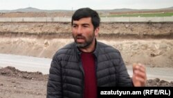 Armenia -- Aram Harutiunian, Resident of Lanjik Village in Shirak Marz. 29April, 2019