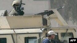 عناصر من بلاك ووتر في بغداد ت تموز2005(من الارشيف)