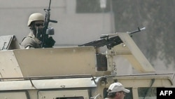 Blackwater private security contractors in a 2005 photo