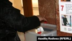 од парламентарните избори во Баку